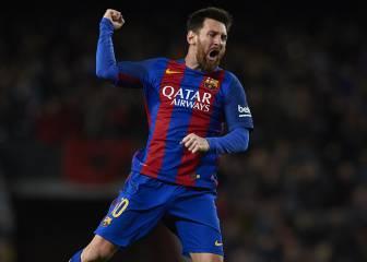 Messi ha sido el salvavidas del Barça en 9 partidos este curso