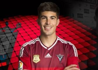 El Mirandés ficha al defensa del Almería Alex Quintanilla
