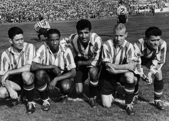 The first 10 foreign players to play for Atlético de Madrid