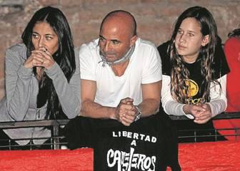 Sampaoli forjó su filosofía con el rock del grupo Callejeros
