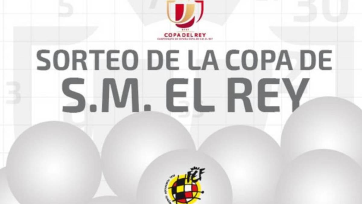 Sorteo Copa del Rey en directo y en vivo online horario