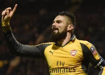 El Arsenal renueva de golpe a Coquelin, Giroud y Koscielny