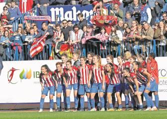 El Atlético Femenino, campeón de invierno, sueña con el título