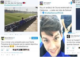 La plantilla del Espanyol se abona al #wefeelsamoa