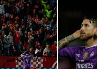 Los gestos de la grada que provocaron a Sergio Ramos