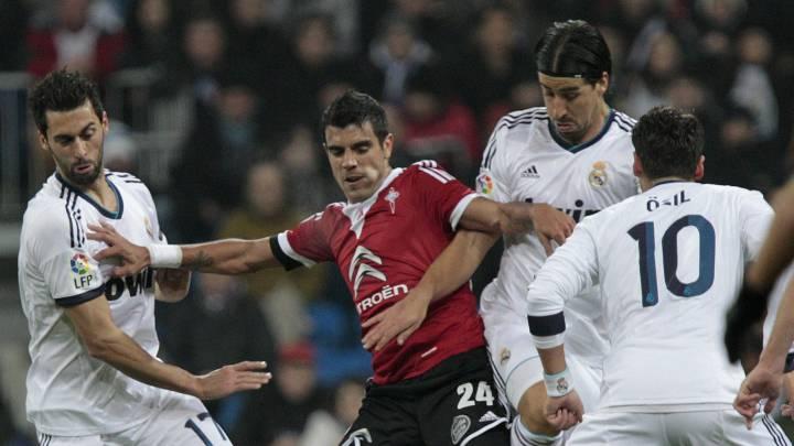 El Celta tumbó al Madrid en una de siete eliminatorias en la Copa