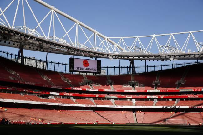 Emirates Stadium, estadio del Arsenal.