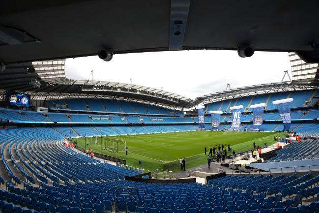 Etihad Stadium, estadio del Manchester City.