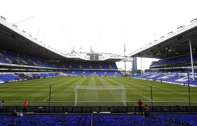 White Hart Lane, estadio del Tottenham.