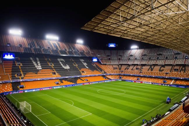 Mestalla, estadio del Valencia.