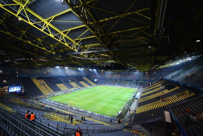 Signal Iduna Park, estadio del Dortmund.