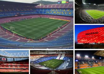 3 estadios españoles entre los 20 más caros de Europa