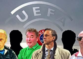 La UEFA sorprende con los 10 mejores técnicos de la historia