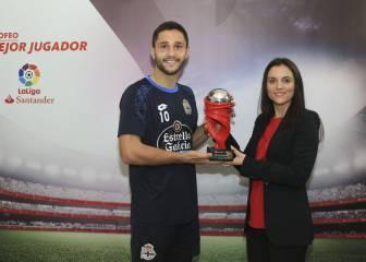 Florin Andone, mejor jugador de LaLiga en diciembre