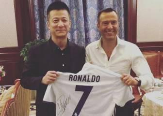 Mendes, el dueño de un equipo chino y ... la camiseta de Cristiano