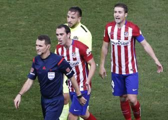 Así le ha ido a Atlético y Betis con Clos Gómez arbitrándoles...