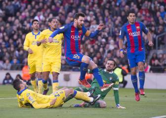 Aleix Vidal gets off the mark as Las Palmas are picked apart