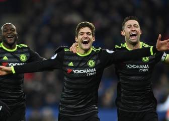 El Chelsea, más líder gracias a Marcos Alonso y Pedro