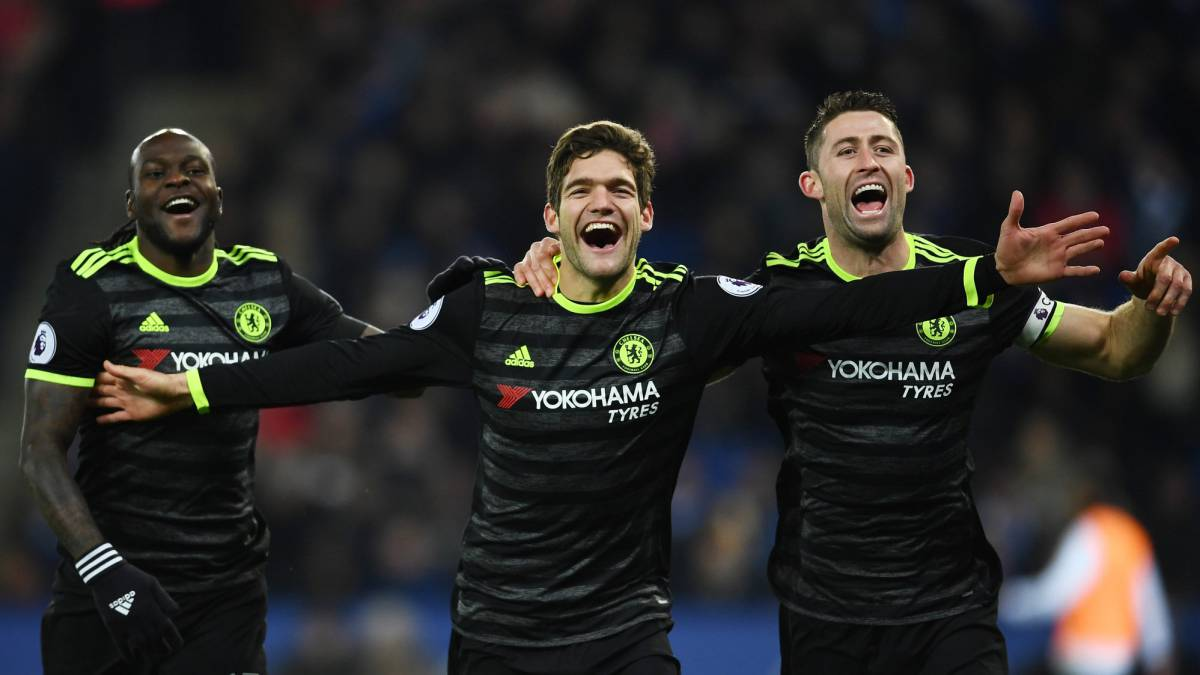 El Chelsea, más líder gracias a Marcos Alonso y Pedro - AS México