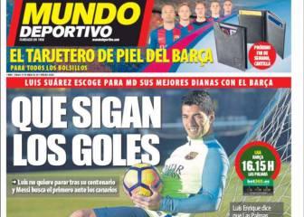 Portadas: Messi y Suárez tapan la destitución de Gratacós