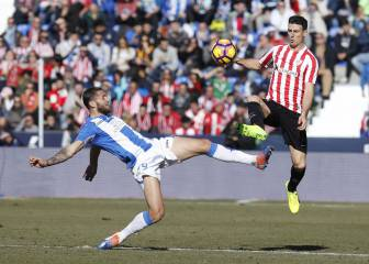 El Leganés perdona y el Athletic se escapa vivo