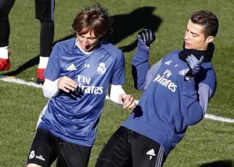 Cristiano y Modric vuelven a la lista: Isco y James siguen fuera