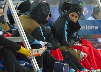 Neymar no empezaba como suplente desde hace un año