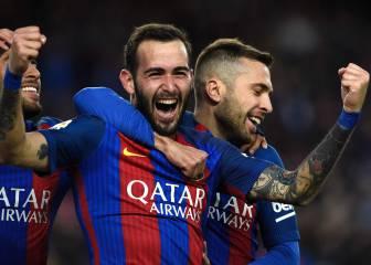 El uno por uno del Barça: Salto de calidad de Aleix y Arda