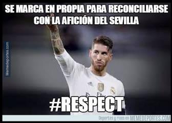Los mejores memes del Sevilla-Real Madrid