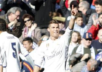 Cristiano: once goles en siete visitas al Sánchez Pizjuán