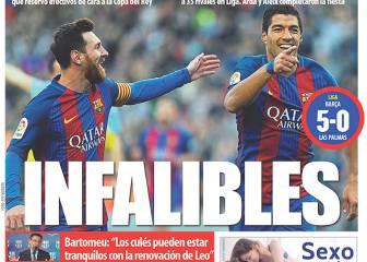 Alabanzas al Barça y confianza en el Sevilla en prensa catalana