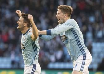 Radoja acerca al Celta a Europa con un gol en el 89'
