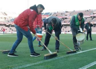 El Granada ensanchó el campo 40 minutos antes del inicio
