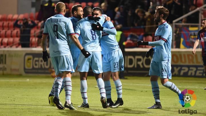 El Levante abre brecha en la tabla ganando al Huesca