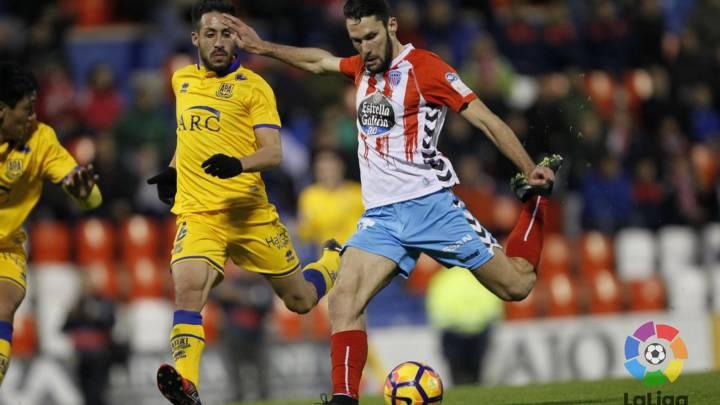 Pedraza da al Lugo tres puntos del playoff ante el Alcorcón
