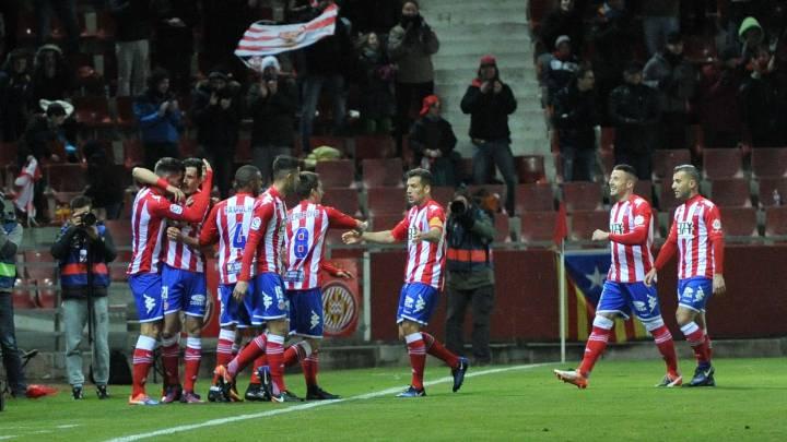Golpe de autoridad del Girona ante un valiente Córdoba