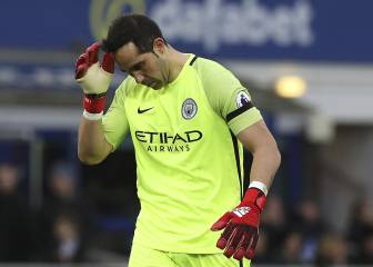 English press: Bravo the worst keeper in the Premier League
