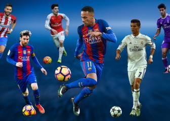 Los mejor valorados: CR es 7º y hay 12 españoles en el Top-100
