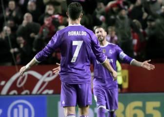 Cristiano, enfadado tras el 2-1, a Ramos: