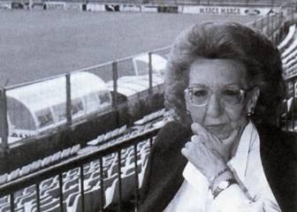 Fallece María Bosch, tras una vida dedicada al Espanyol
