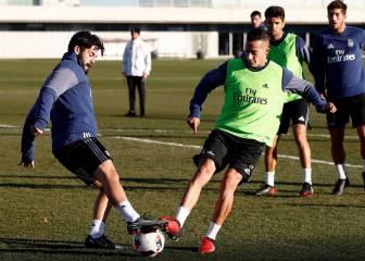 Isco se entrenó con el grupo y podría volver a la lista en Copa