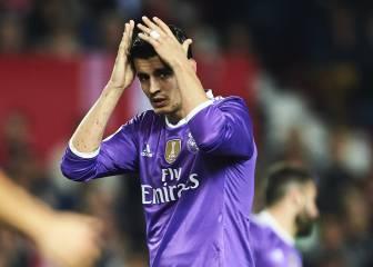 Frenazo de Morata: 2 goles en los últimos dos meses y medio