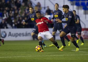 El club sanciona a Uche por su roja contra el UCAM Murcia