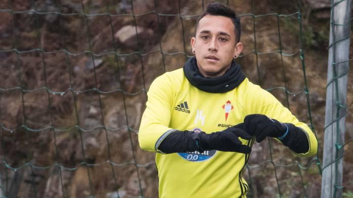 Orellana se ejercitó ayer en solitario, al margen de sus compañeros, por decisión técnica.