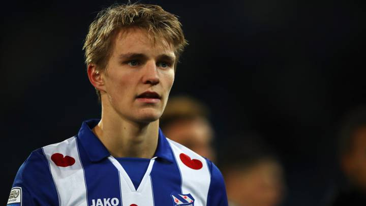 Intentan convencer a Odegaard para que no vuelva al Madrid