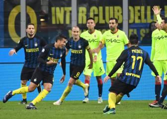 El Inter pasa por la prórroga para eliminar al Bolonia