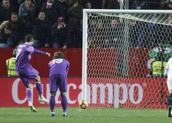 Cristiano iguala el récord de Hugo de penaltis en Liga