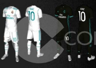Desvelan las equipaciones del Real Madrid para la 2017-2018