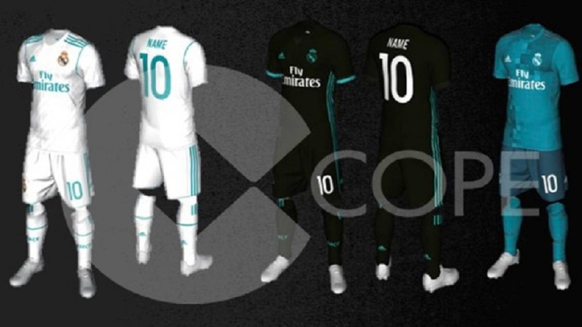 Filtran las equipaciones del Real Madrid para la 2017-2018 - AS USA 4bfb8ed485bad