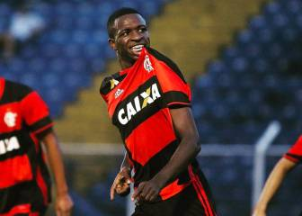 Flamengo determined to keep hold of Brazil starlet Vinicius